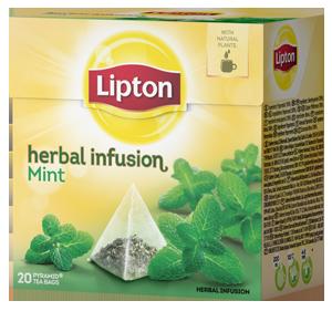 Lipton Herbal Infusion Pfefferminze 20